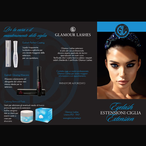 Depliant inf. GLAMOUR LASHES