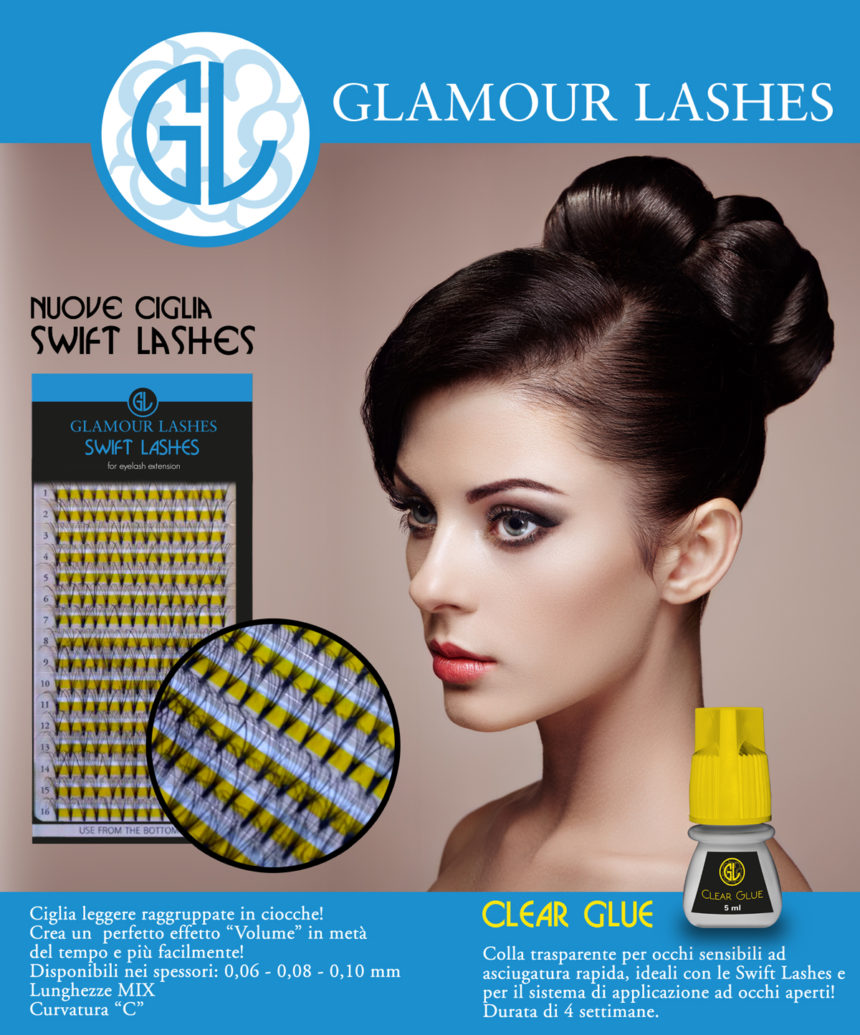 Swift Lashes & Clear Blue